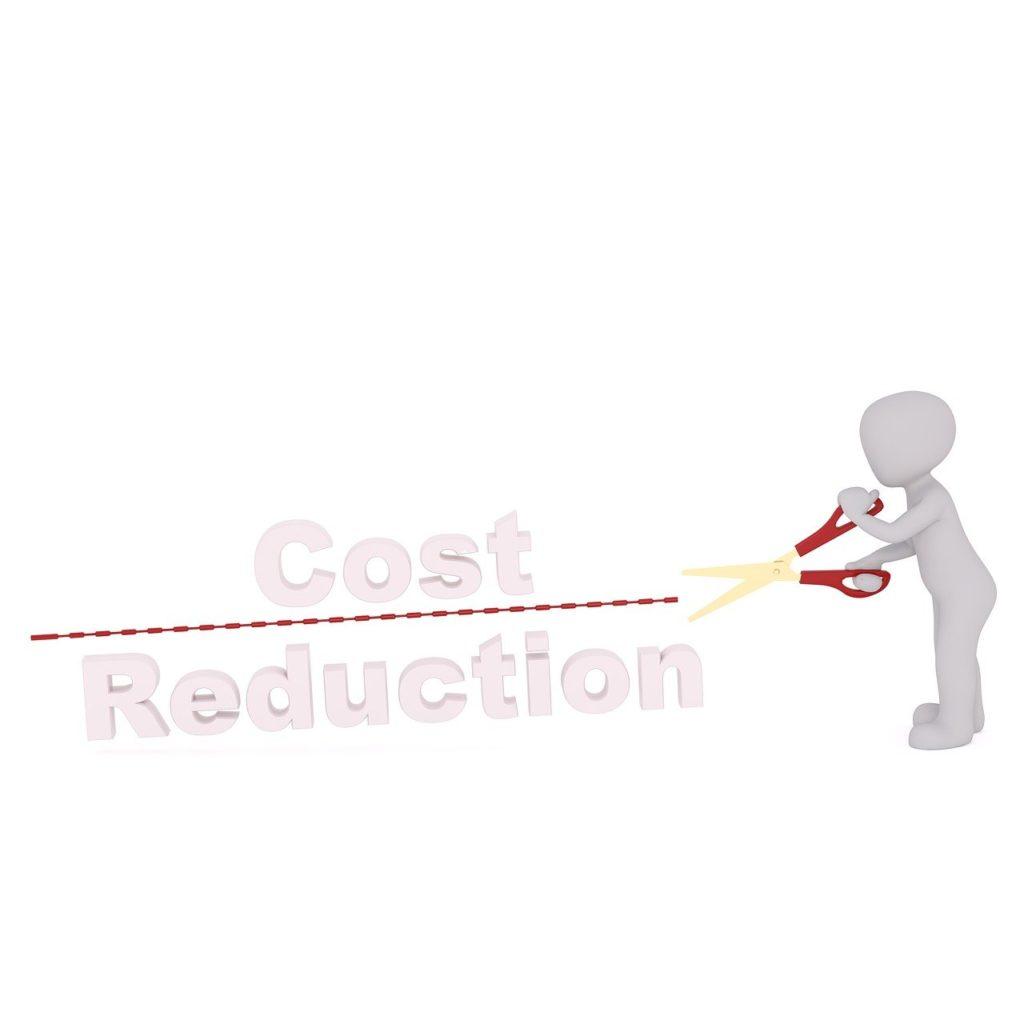 negócio por um custo menor