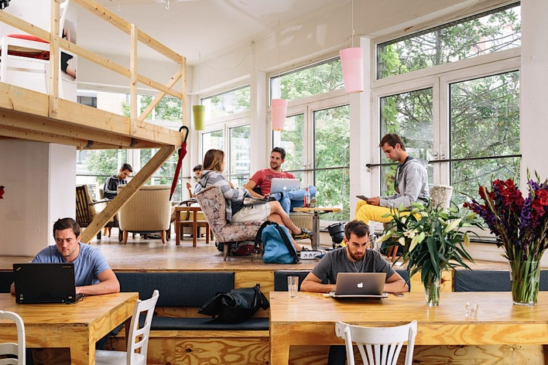 panorama do coworking