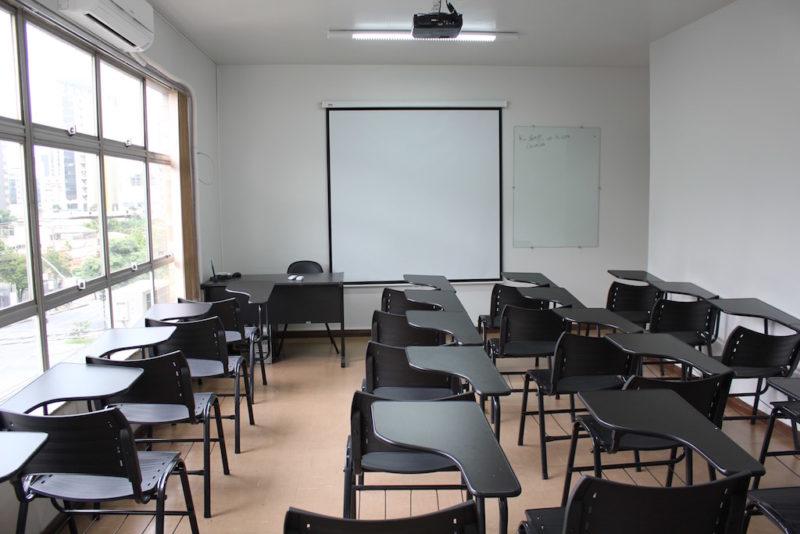 Como escolher uma sala de treinamento