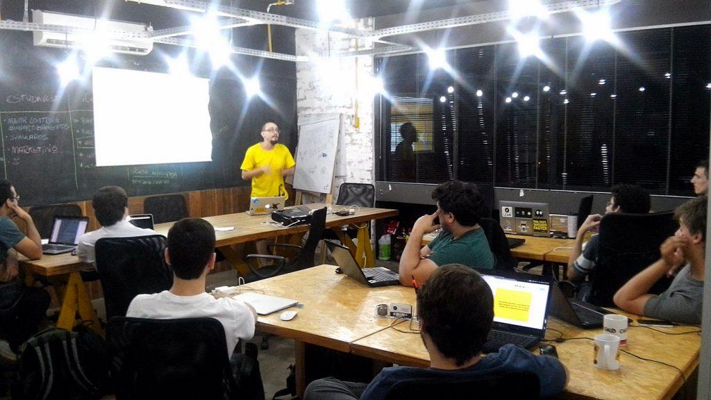Eventos, workshops e palestras em Coworking