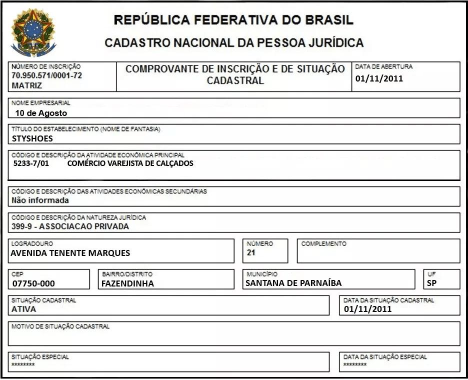 Ficha CNPJ