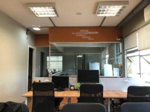 escritorio de coworking