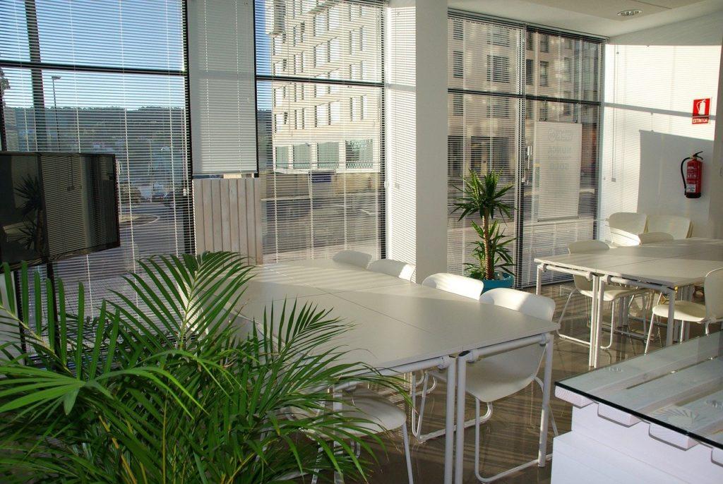 espaço de um escritório