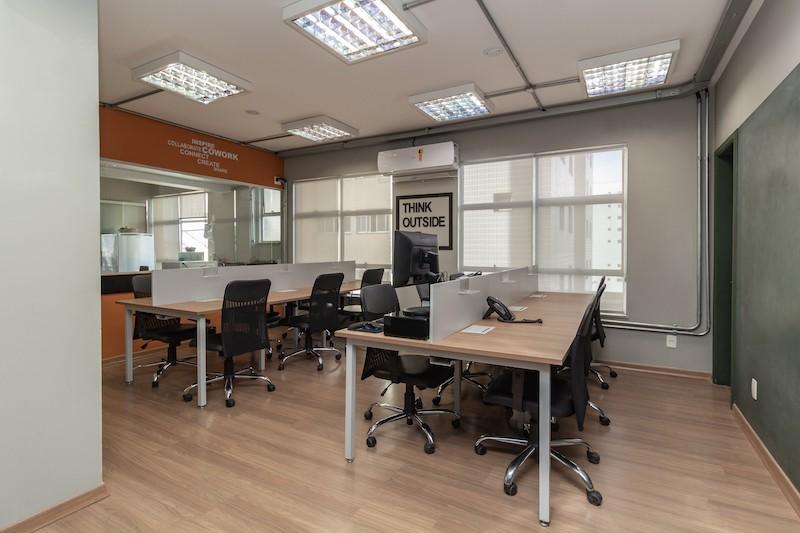 escritório flexível