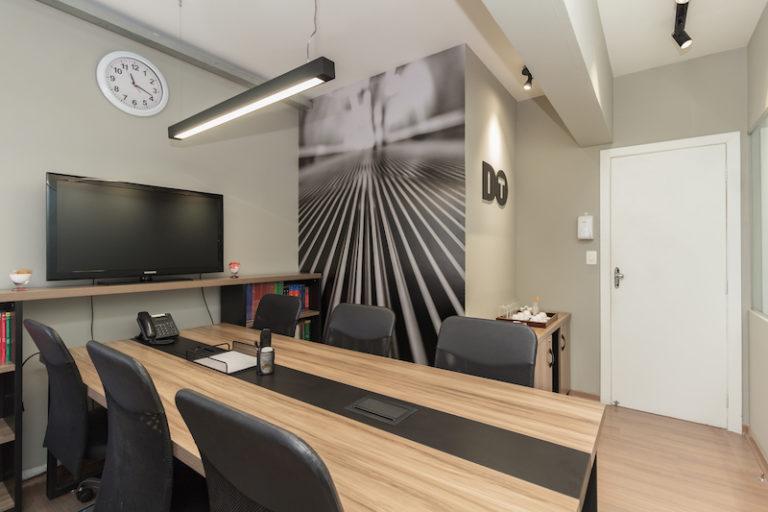 sala de reunião desk coworking