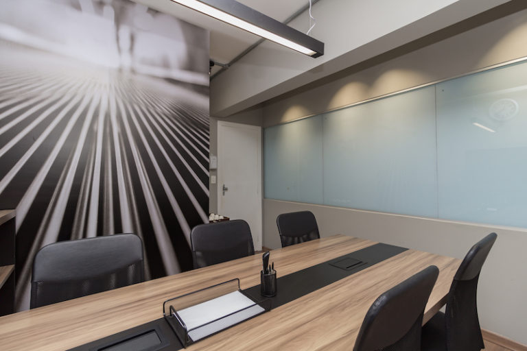 sala de reuniões desk coworking