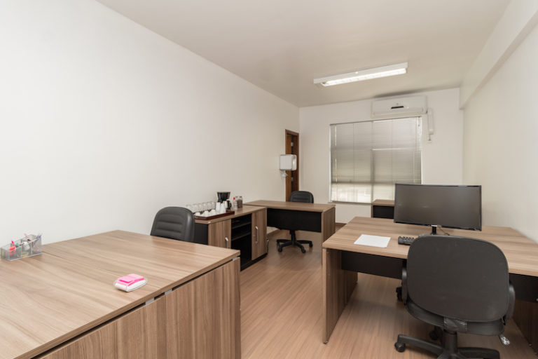 sala privativa desk coworking